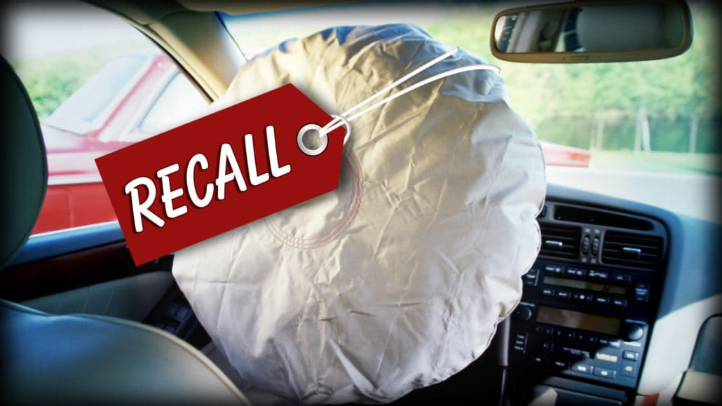 Ford Recalls 3 Million Vehicles Because of Takata Airbag Defect_photo