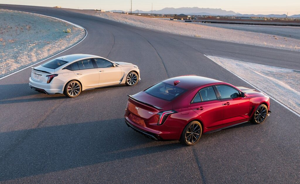 Cadillac Offers Costly Extra Options for CT4-V and CT5-V Blackwings