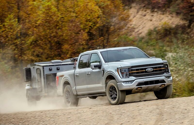 Global Semiconductor Chip Shortage Affects the 2021 Ford F-150 Production_photo