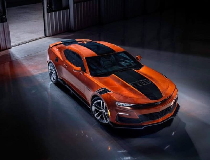 Updated 2022 Chevrolet Camaro Goes into Production on September 20_photo