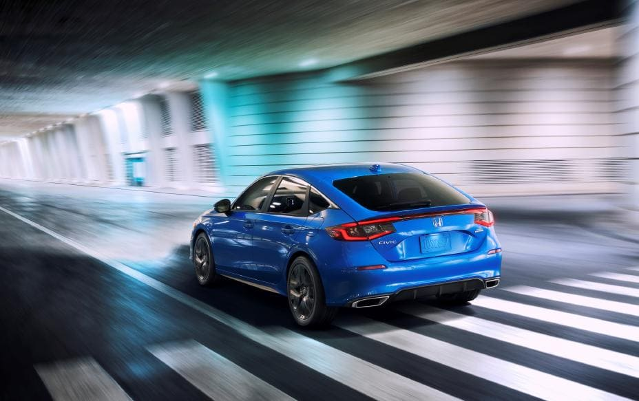 2022 Honda Civic Hatchback Revealed: Aims at Youth, Brings a 6-Speed MT_1