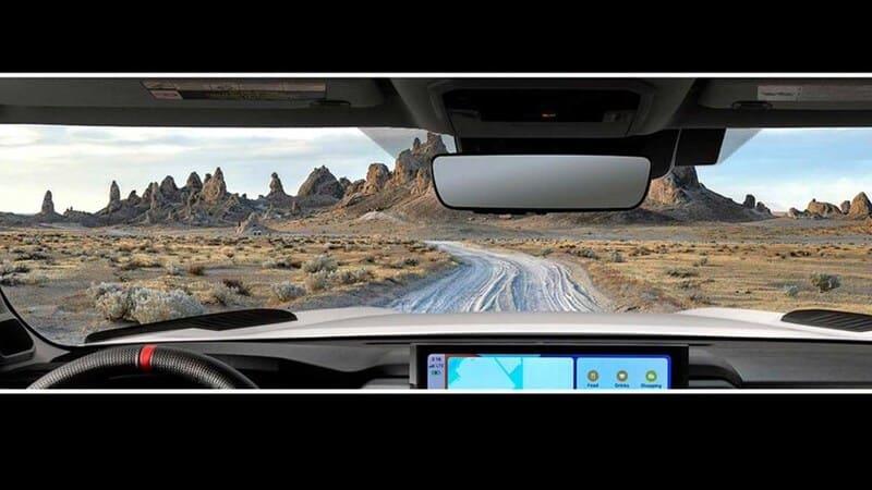 2022 Toyota Tundra interior image