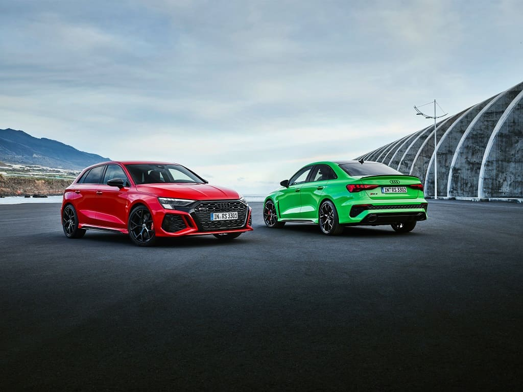 Audi A3-Based RS3 Model Unveiled: Ordering in July, Sales This Fall_1
