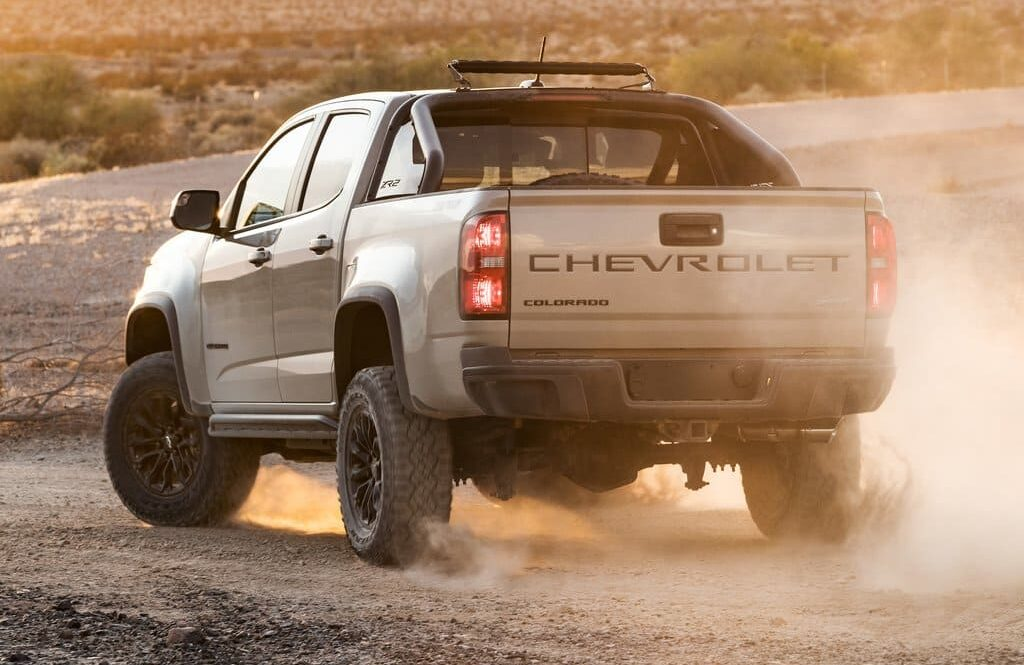 2022 Chevrolet Colorado Is Available With an Off-Road Package From Dealers_1