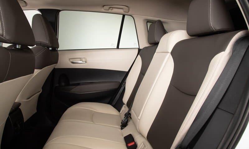 2022 Toyota Corolla Cross interior rear image