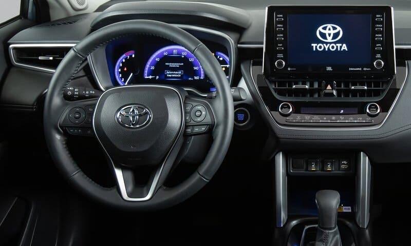 2022 Toyota Corolla Cross interior image