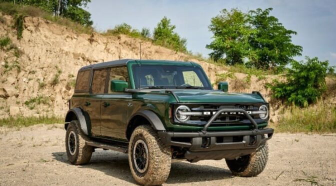 Ford Bronco Debuts Two New Colors and HOSS Suspension_photo